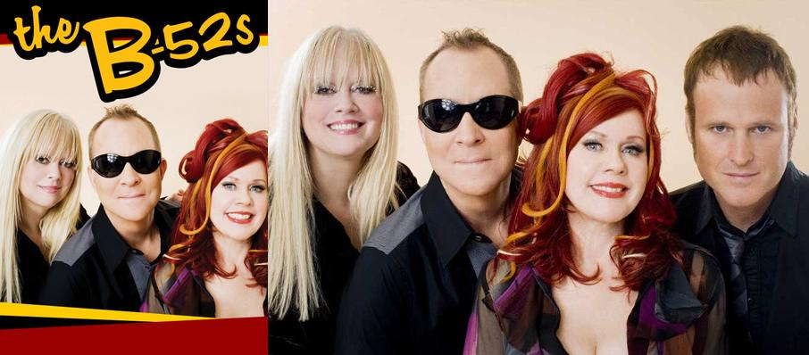The B-52s at Pacific Amphitheatre