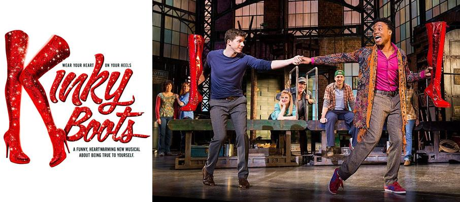 Kinky Boots at Segerstrom Hall