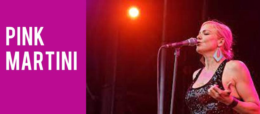 Pink Martini at Renee and Henry Segerstrom Concert Hall