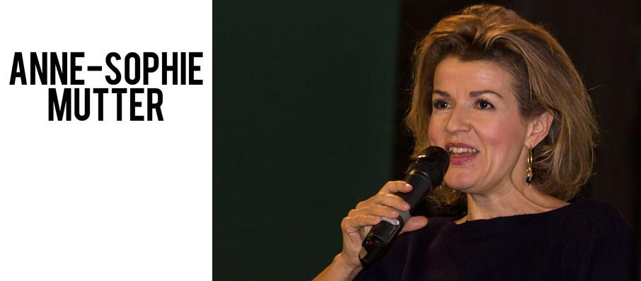 Anne-Sophie Mutter at Renee and Henry Segerstrom Concert Hall