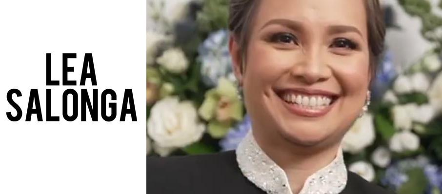 Lea Salonga at Renee and Henry Segerstrom Concert Hall