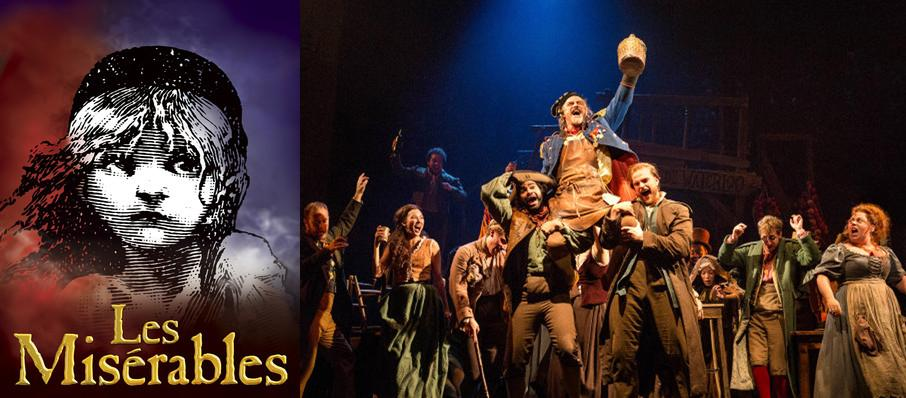 Les Miserables at Segerstrom Hall