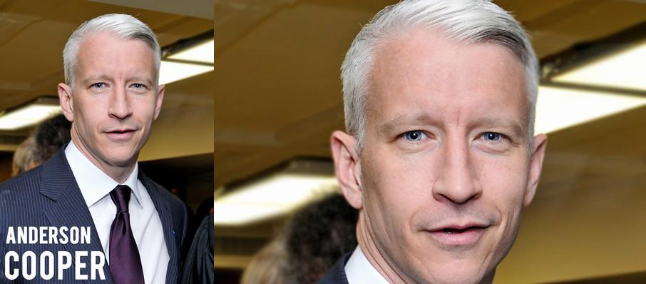 Anderson Cooper at Segerstrom Hall