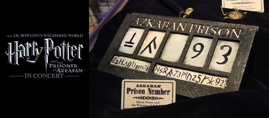 Harry Potter and the Prisoner of Azkaban in Concert at Segerstrom Hall