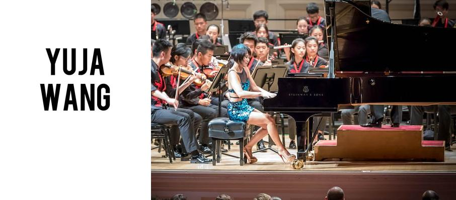Yuja Wang at Renee and Henry Segerstrom Concert Hall