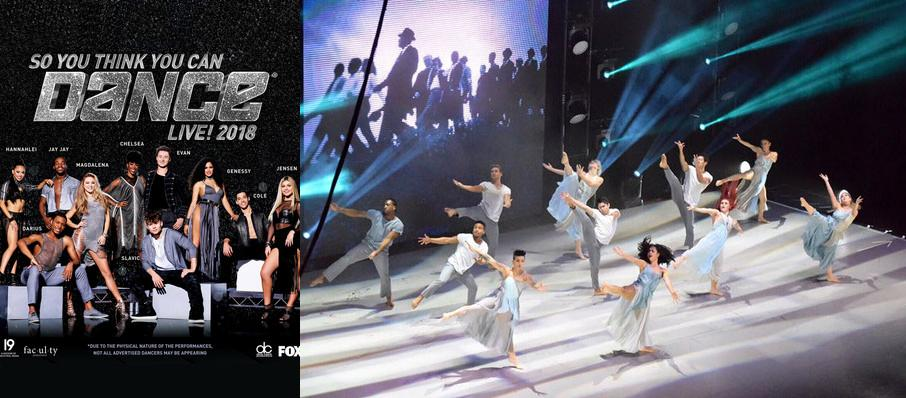 So You Think You Can Dance Live at Segerstrom Hall