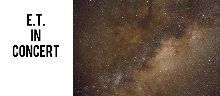 ET The Extra-Terrestrial In Concert at Pacific Amphitheatre