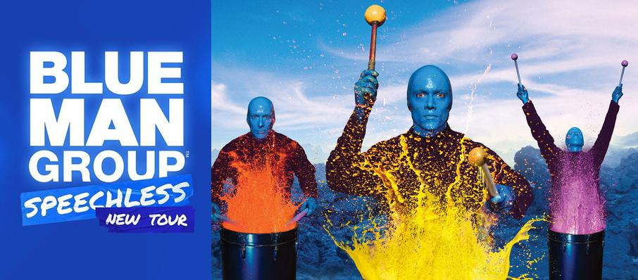 Blue Man Group at Segerstrom Hall