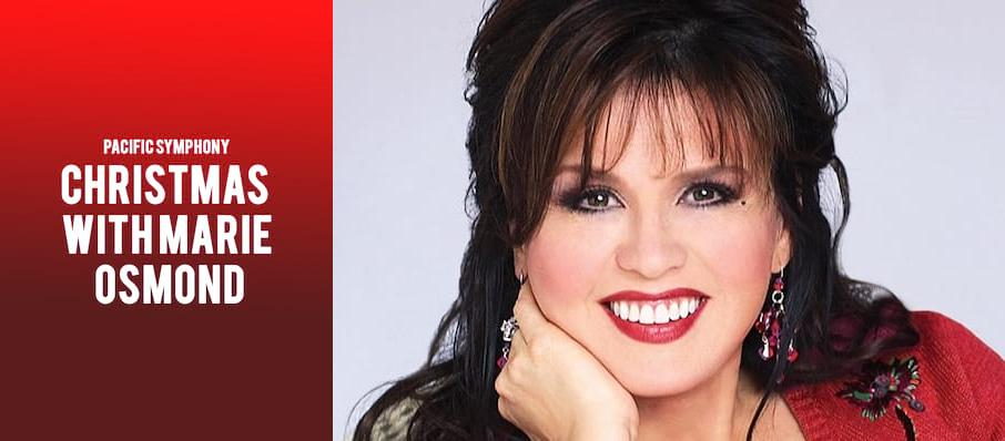 Pacific Symphony - Christmas with Marie Osmond at Renee and Henry Segerstrom Concert Hall