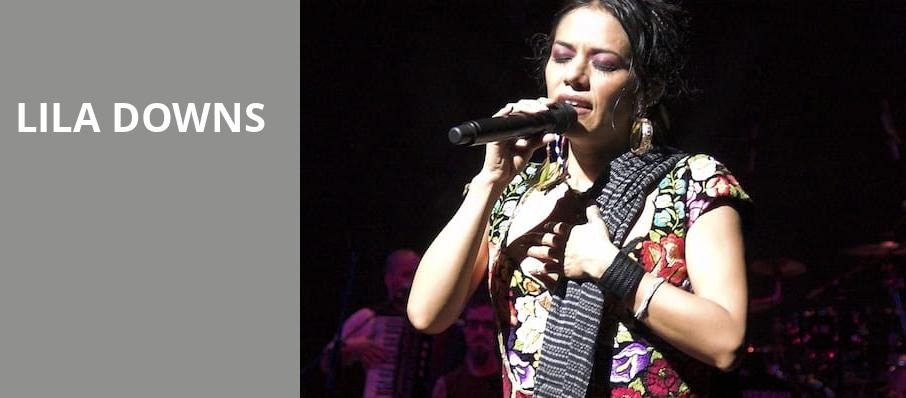 Lila Downs, Renee and Henry Segerstrom Concert Hall, Costa Mesa