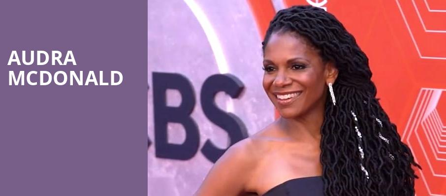 Audra McDonald, Renee and Henry Segerstrom Concert Hall, Costa Mesa