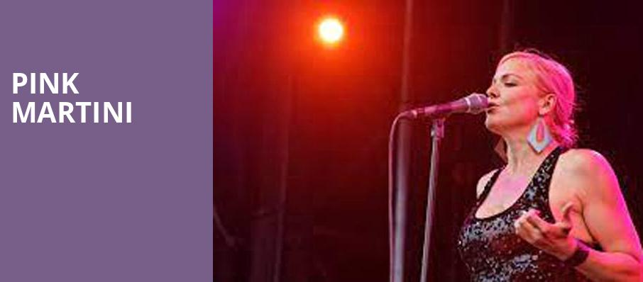 Pink Martini, Renee and Henry Segerstrom Concert Hall, Costa Mesa