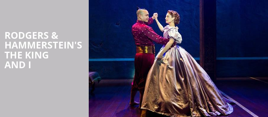 Rodgers Hammersteins The King and I, Segerstrom Hall, Costa Mesa