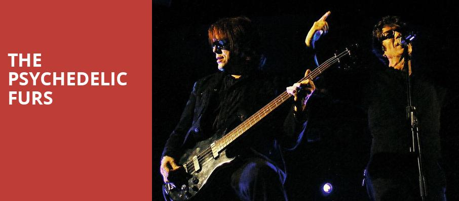 The Psychedelic Furs, Pacific Amphitheatre, Costa Mesa