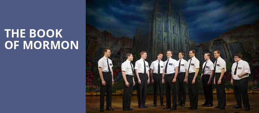 The Book of Mormon, Segerstrom Hall, Costa Mesa
