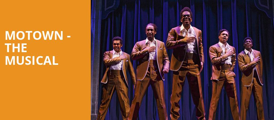 Motown The Musical, Segerstrom Hall, Costa Mesa